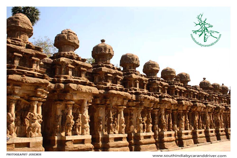 Kanchipuram Kailasanatha Temple, Tamil Nadu, India.