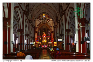 Sacred Heart Church Pondicherry I Pondicherry I car and driver I India by car and driver