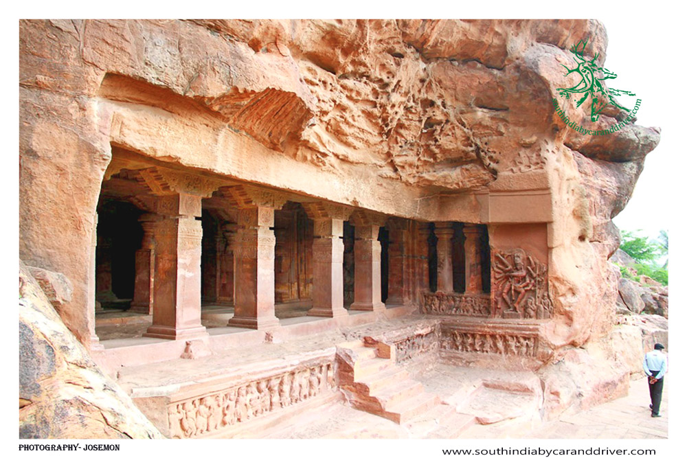 Badami Caves Temples Chalukyans I South India By Car and Driver