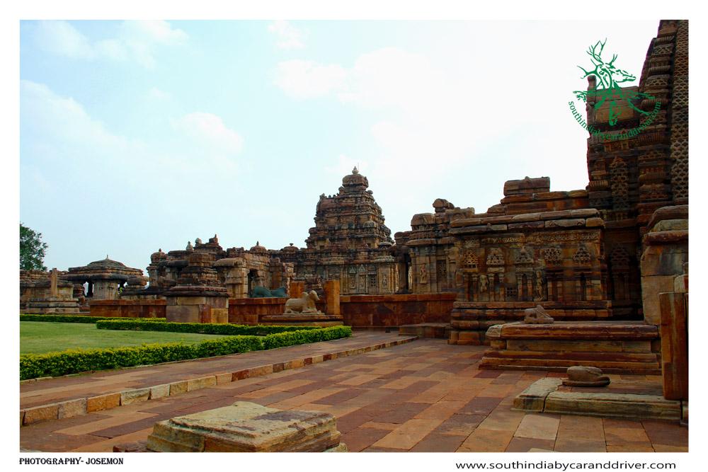 The Temple of Virupaksha, Pattadakal,Karnataka