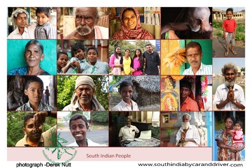 South Indian People face