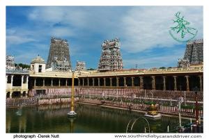 madurai temple I car and driver