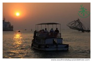 Kochi sunset cruise boat