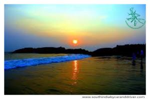 Kovalum  sunset
