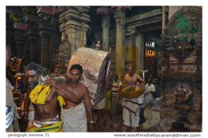 Madurai Meenakshi Temple Night Ceremony