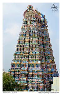 madurai temple tower I car and driver