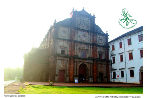 Goa,Basilica of Bom Jesus