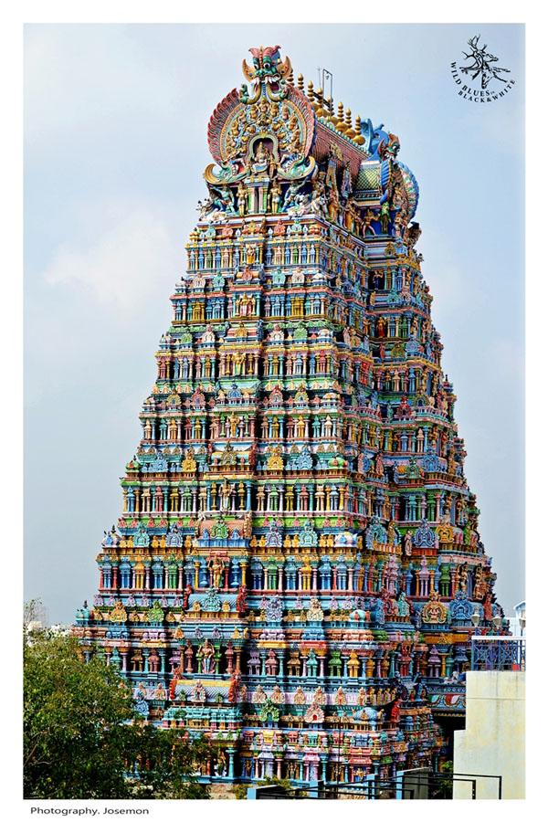 Madurai Minakshi temple Tamil Nadu