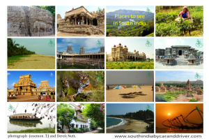 Places to see in South India